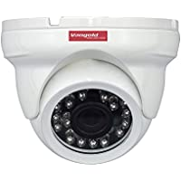 Vangold 1.3 MP HD 960P Network ONVIF Dome P2P IP Security Camera with PoE Power Over Ethernet and 3.6mm Wide Angle Len for Outdoor / Indoor Surveillance