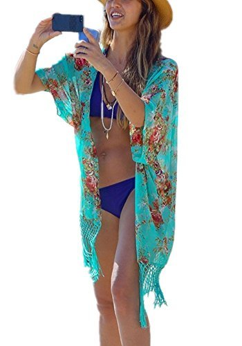 Century Star Women's Summer Comfort Beachwear Cover Up Ladies Dress Green - Mall In Americana Stores