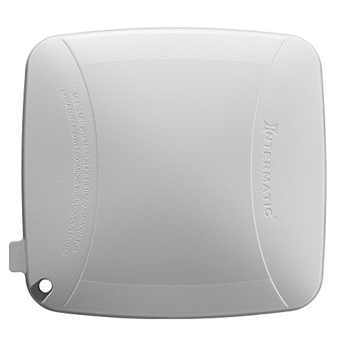 Intermatic WP5240W Extra Duty Plastic Weatherproof Cover, 3.625-Inch Double Gang, White by Intermatic