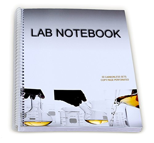 - Chemistry Lab Notebook 50 Carbonless Duplicating Sets