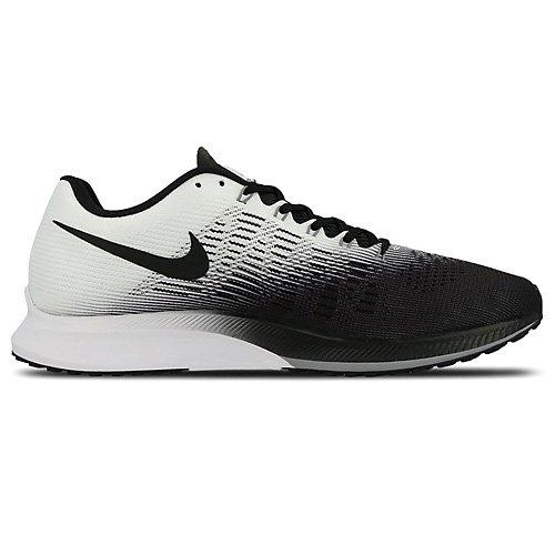 Nike Air Zoom Elite 9, Zapatillas de Running para Hombre Multicolor (Weiß/schwarz/stealth/grau)