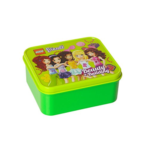 Lego Friends Lunch Box Lime