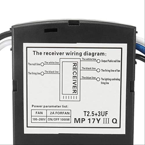 Ventilador de Techo Kit de Control Remoto Que sincroniza el ...