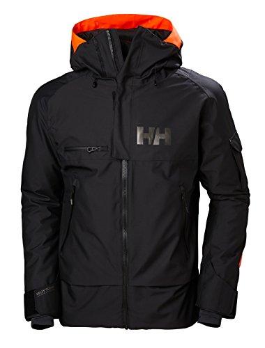 Helly Hansen Men's Garibaldi Ski Jacket, Black, ()