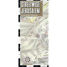 Streetwise Jerusalem Map - Laminated City Center Street Map of Jerusalem, Israel (Michelin Streetwise Maps)