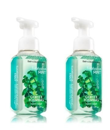 Bath and Body Works Gentle Foaming Hand Soap, Eucalyptus Mint 8.75 Ounce (Body Works Mint)