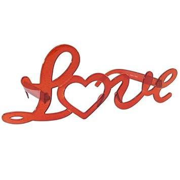[コスプレメガネ]面白サングラス/LOVE オクタニコーポレーション パーティー イベント グッズ 通販