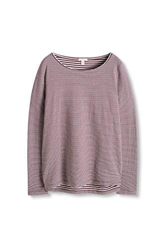 ESPRIT, Camisa para Mujer Multicolor (Bordeaux Red 600)