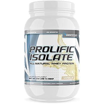 Amazon.com: G6 Sports Nutrition Prolific Isolate All ...