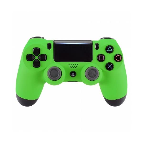 PS4 Dualshock Playstation 4 Wireless Controller Custom Soft Touch New Model (Green) 1
