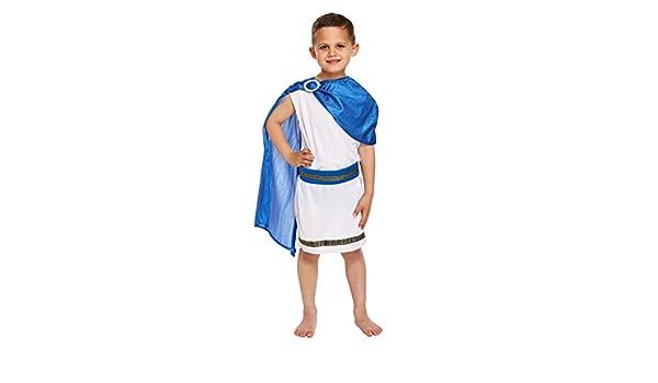 Child - Disfraz de romano para niño, talla 7-9 años (U37 766 ...