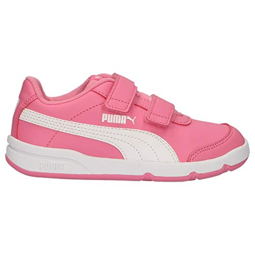 PUMA Girl and Boy Sports Shoes 190704 STEPFLEEX 07 Pink-White