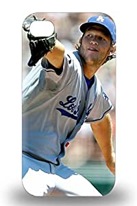 Fashion Tpu 3D PC Case For Iphone 4/4s MLB Los Angeles Dodgers Clayton Kershaw #22 Defender 3D PC Case Cover ( Custom Picture iPhone 6, iPhone 6 PLUS, iPhone 5, iPhone 5S, iPhone 5C, iPhone 4, iPhone 4S,Galaxy S6,Galaxy S5,Galaxy S4,Galaxy S3,Note 3,iPad Mini-Mini 2,iPad Air )