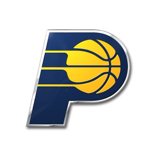 NBA Indiana Pacers Die Cut Color Automobile Emblem, 3.25