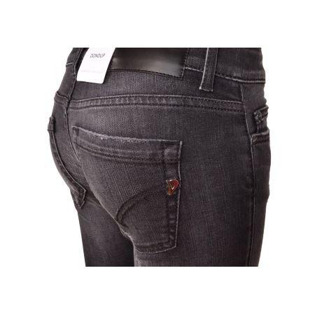 Monroe Nuova Skinny Dondup Nero P692ds168dr18ndhi999 Pantalone Donna 2018 Fit Jeans Collezione Strappato Elasticizzato q1q6wvt