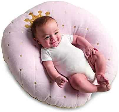 Boppy Luxe Newborn Lounger, Pink Princess
