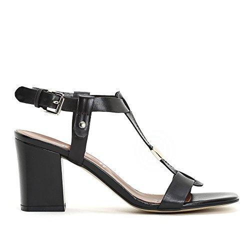 ALESYA by Scarpe&Scarpe - Sandalias altas con accesorio dorado Negro