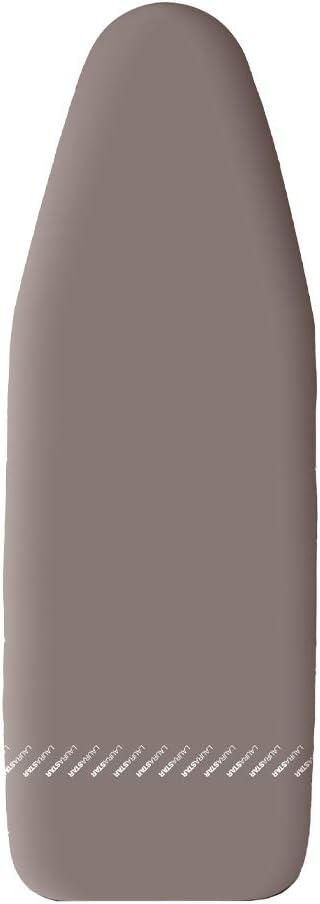 Laurastar Mycover Taupe S - Funda de planchar, color gris topo, 125 x 42 cm