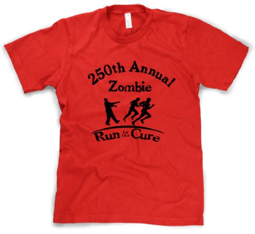Run for the Cure Zombie T Shirt