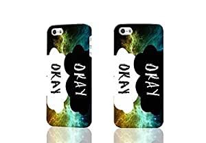 diy phone caseOkay The Fault In Our Stars Quote John Green 3D Rough Case Skin, fashion design image custom , durable hard 3D case cover for iphone 5/5s , Case New Design By Codystorediy phone case