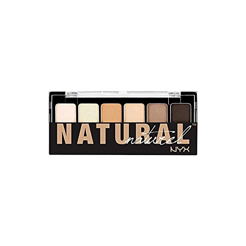 Nyx Cosmetics The Natural Shadow Palette (Pack of 6) - 化粧品自然シャドウパレット x6 [並行輸入品] B072HJ8RR4