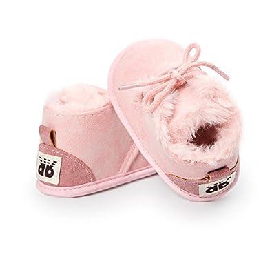 Kfnire Zapatos de Beb/é Suela Blanda Invierno Infantil Botas Cuna Zapatos