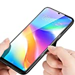 Cocklet Compatible with Poco M3 pro Smart Shining Plane Glass Case Cover,Anti Scratch Toughened Glass Back Case…