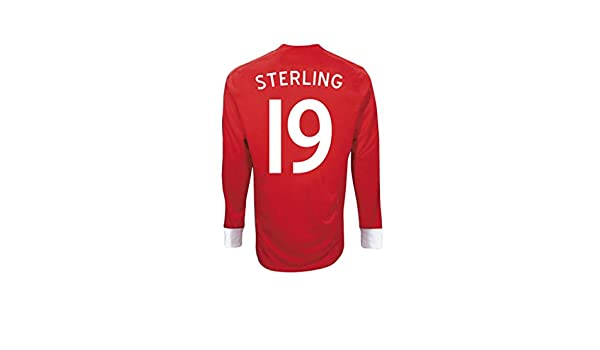 75864a63893 Amazon.com: Umbro STERLING #19 England Away Jersey Long Sleeve: Sports &  Outdoors