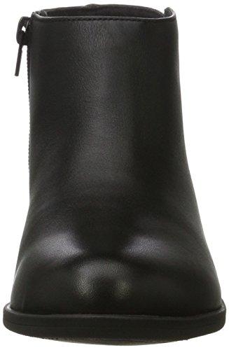 Clarks Damen Addiy Zora Combat Boots Schwarz (pelle Nera)