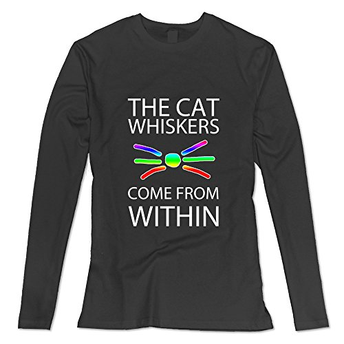 womens-dan-and-phil-cat-whiskers-poster-long-sleeve-tshirt-size-s-black