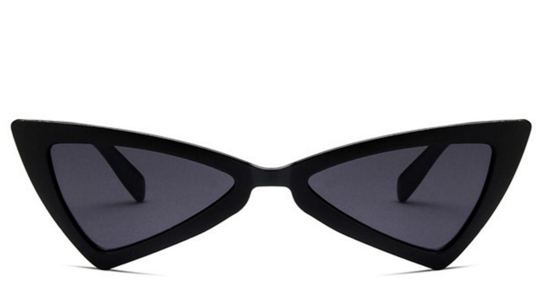 Huertuer Retro dreieckig Cat Eye Sonnenbrille Travel Outdoor UV400/Sonnenbrille f/ür Frauen schwarz