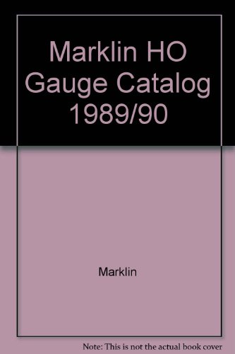 Marklin Catalog - Marklin HO Gauge Catalog 1989/90