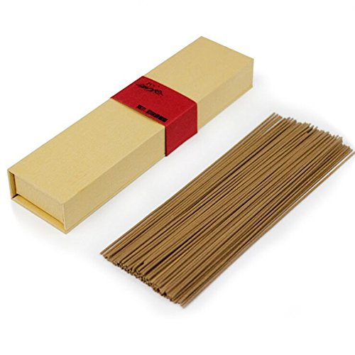 2500 Silk Art High Class Wormwood Sticks Scents Incense Pack of 60g 120 piece for Yoga Zen and Deep Meditation and Feng Shui Air Fresh AXX001-2BM(Cypress) by 2500 Silk Art