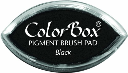 (CLEARSNAP ColorBox Pigment Cat's Eye Inkpad, Black)