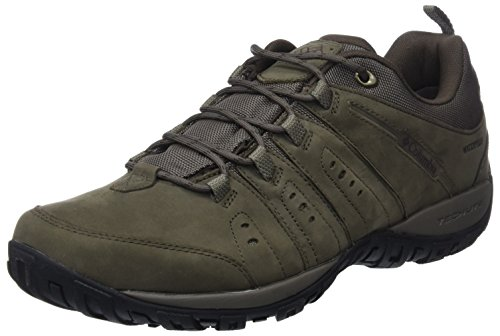 Columbia Woodburn Plus Waterproof Scarpe Da Escursionismo Uomo Marrone major Madder Brown 245major 245