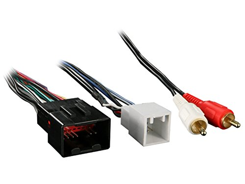 Metra 70-5519 Radio Wiring Harness for Mustang 01-03 Mach 1 Amp ()