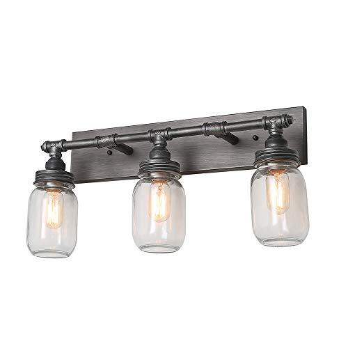 3 Mason Jar Pendant Light in US - 4