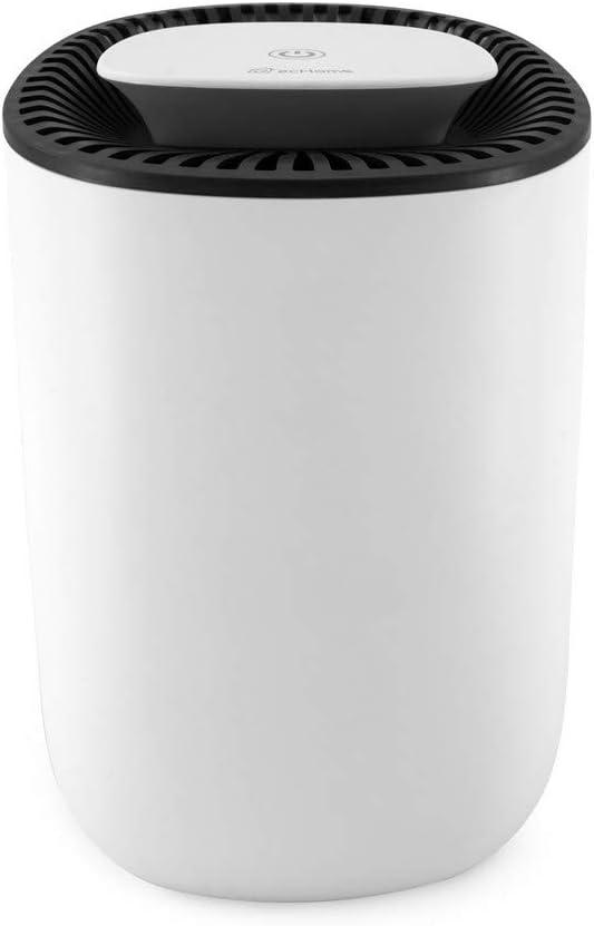 Garage Cantina 600 ml Bagno per casa Cucina Ufficio ecHome Mini deumidificatore Portatile Compatto per umidit/à Bianco roulotte Camera da Letto