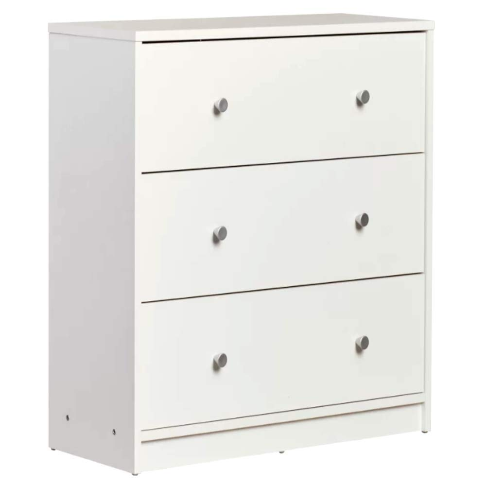 Chest Of Drawers For Sale Modern Mid Century Unique 3 Tier Drawer Chest White Finish Silver Handle Contemporary Storage Drawer Dresser Chest E Book
