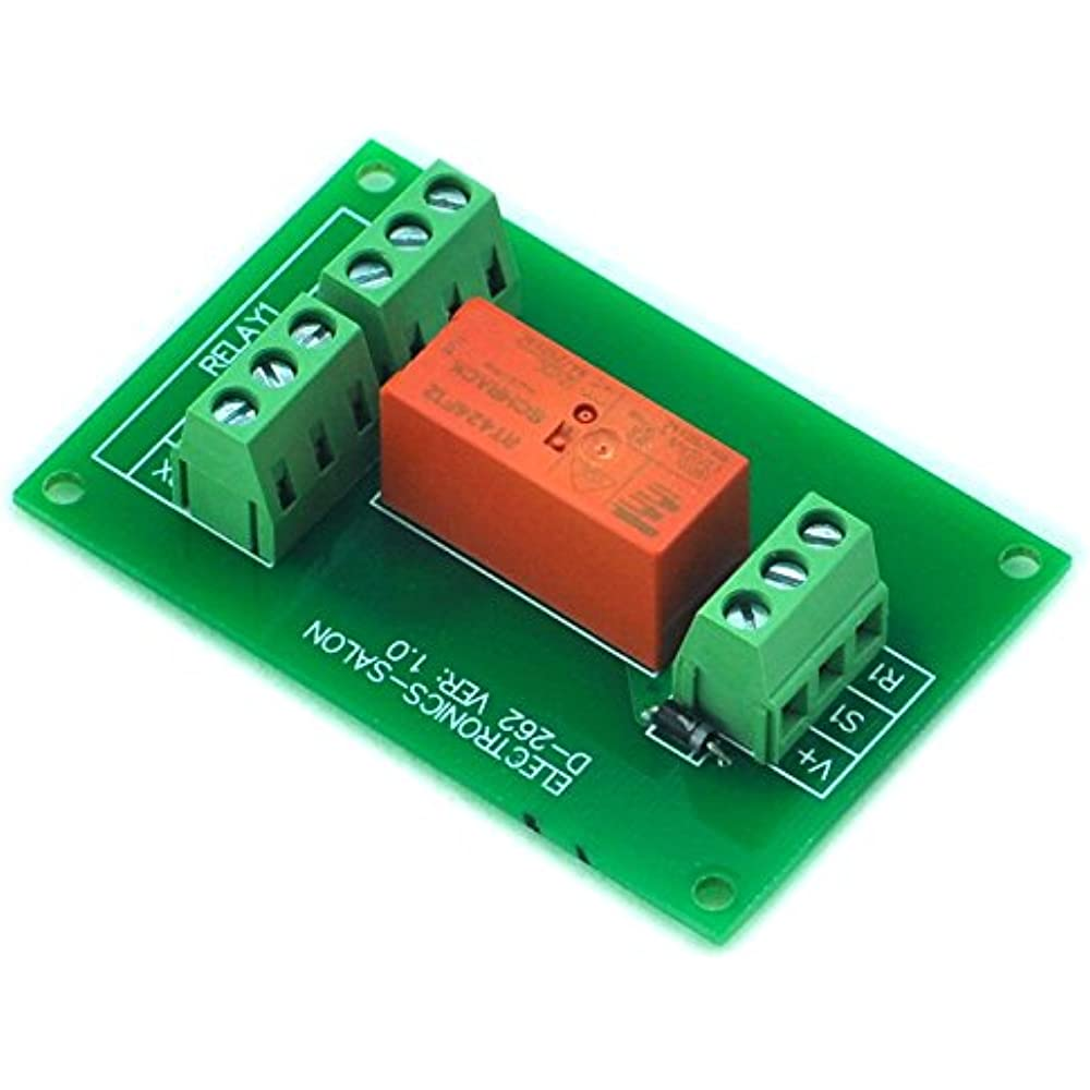 Electronics Latching Dpdt 8 Amp Power Relay Module  12v
