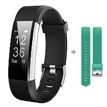 GanRiver 活動量計 スマートブレスレット Bluetooth搭載 腕時計型 ...