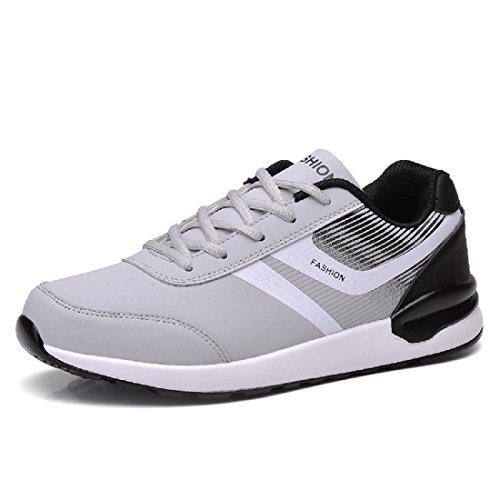 Hombres Zapatos deportivos impermeable Zapatos de viaje Excursionismo Talla grande Entrenadores al aire libre Excursionismo black and white