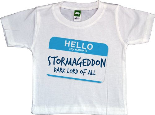 STORMAGEDDON Baby T-shirt Dark Lord of All Dr. Baby Who