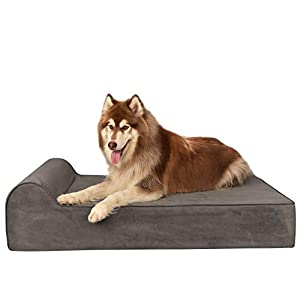 7.8-inch Large Orthopedic Dog Bed with Removable Cover Waterproof Pet Bed with High-Density Memory Foam Mattress Anti… Click on image for further info.