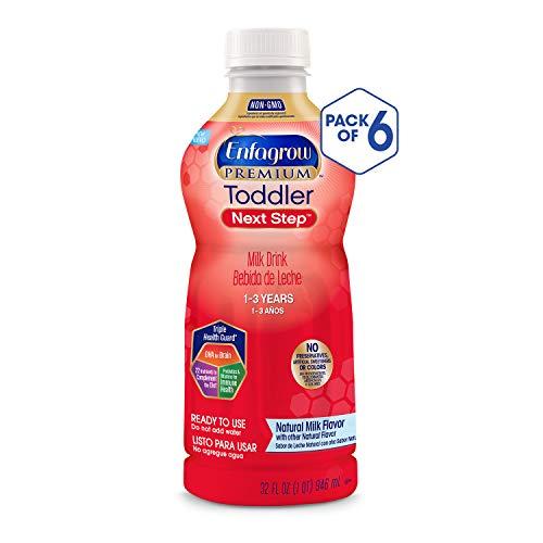 (Enfagrow PREMIUM Toddler Next Step, Natural Milk Flavor - Ready to Use Liquid, 32 fl oz (Pack of 6))