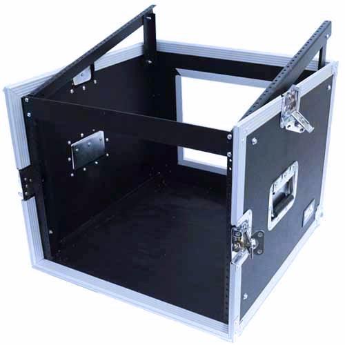 Seismic Audio - SAMRC-8U - 8 Space Rack Case with Slant Mixer Top - PA/DJ Pro Audio Road Case by Seismic Audio (Image #4)