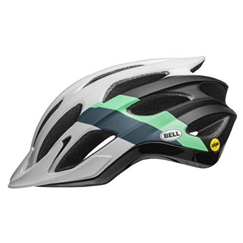 Bell Drifter MIPS Cycling Helmet - Logic Matte/Gloss White/Black/Mint Large -
