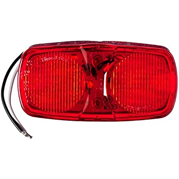 """Truck-Lite 2660 Red LED Marker Clearance Light Lamp 2/"""" x 4/'/' 16 Diode"""