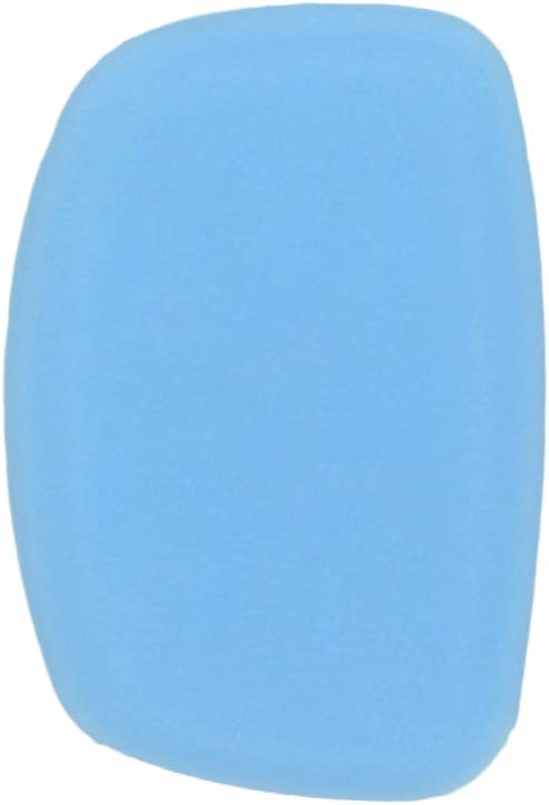 uxcell 5 Button Sky Blue Car Silicone Remote Key Cover Case Fob Protector for Buick