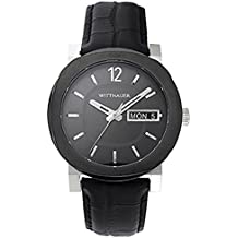 Wittnauer Black Leather Strap Watch WN1000
